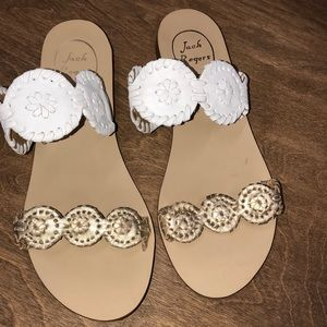 Jack Rogers size 7 double strap summer sandals
